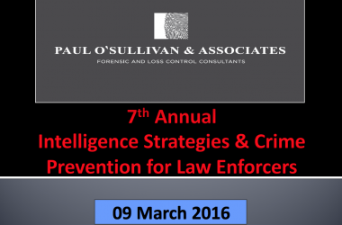 7th Annual Intelligence Strategies & Crime Prevention for Law Enforcers Conference